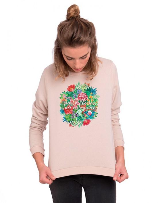 SUN-SW-Sudadera Pinto flores