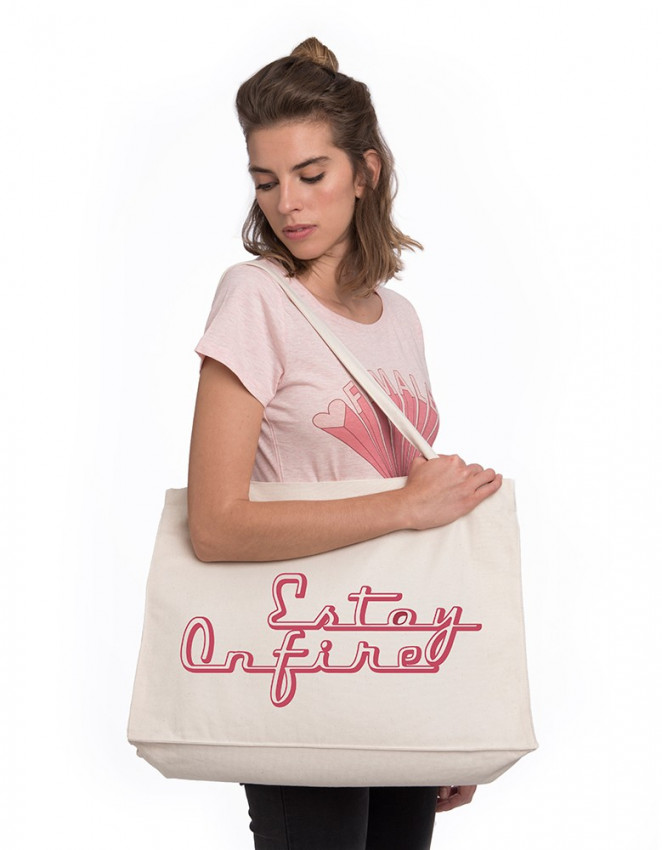 TTB-TT-Tote bag estoy on fire