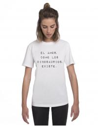 CPB-CW-Camiseta El amor como los dinosaurios existe