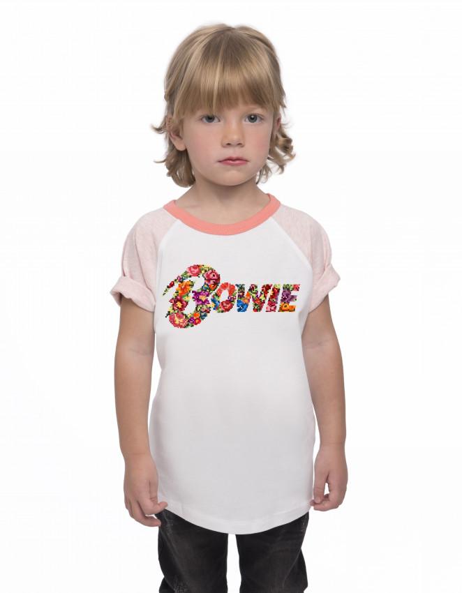 CBR-CK-Camiseta beisbolera niña Bowie