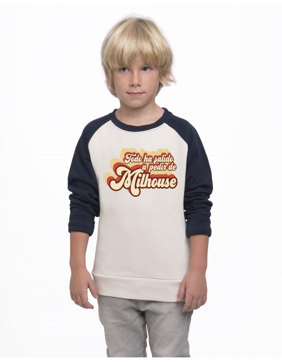 SBN-SK-Sudadera niño Ha salido a pedir de Milhouse