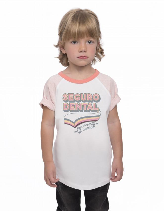 CBR-CK-camiseta niña Seguro dental