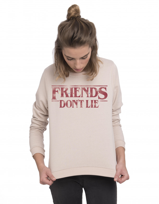 SUN-SW-Camiseta Stranger Things friends don't lie