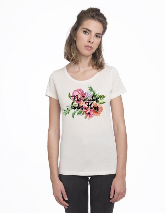 CAV-CW-camiseta No te eches tantas flores