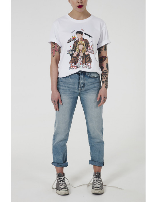 OVE-CW-camiseta the end