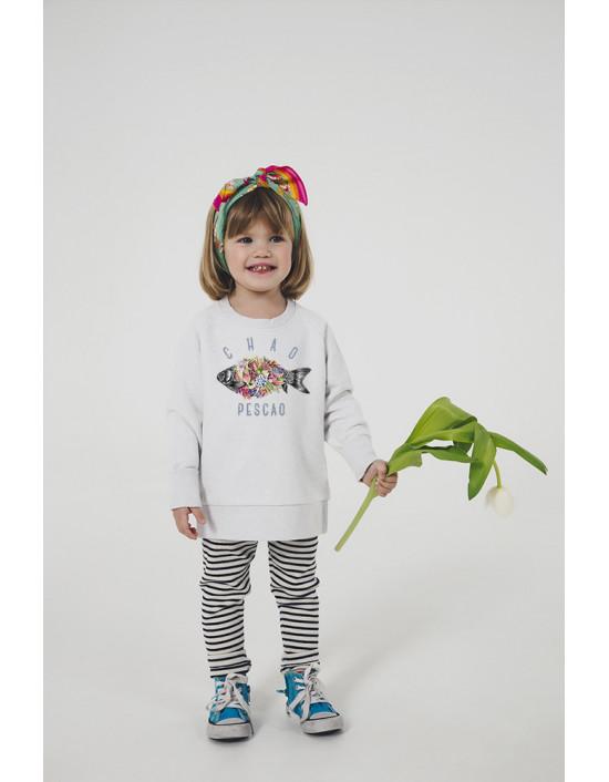 SBN-SK-Sudadera niña Chao pescao