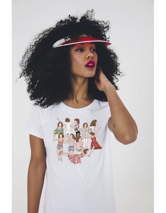 MCB-CW-Camiseta Lola flores old school