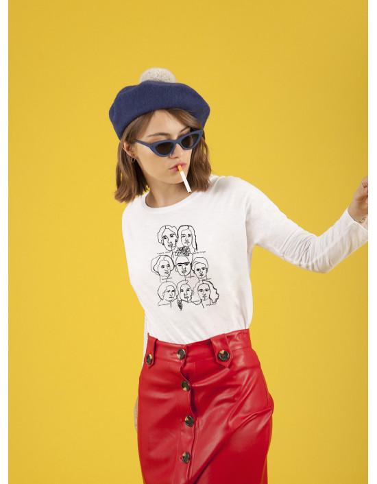 MLB-CW-Camiseta Mujeronas