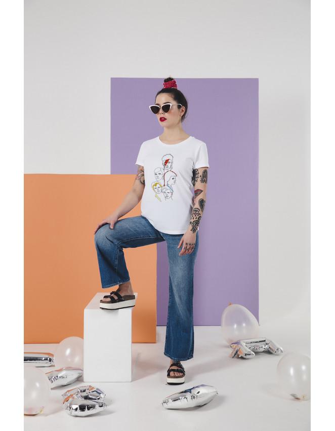 OVE-CW-camiseta Bowie stars