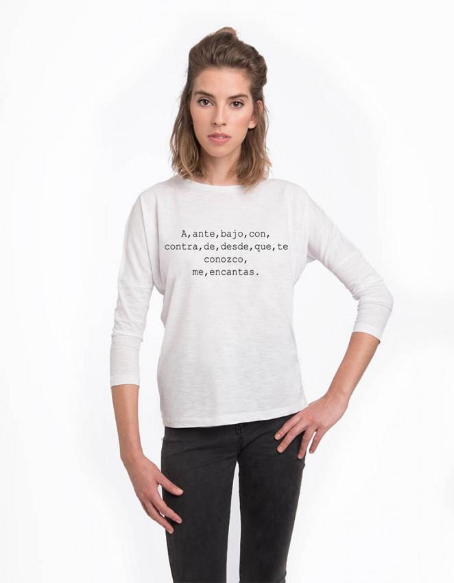 MLB-CW-Camiseta Me encantas