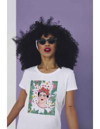MCB-CW-Camiseta Frida Flores