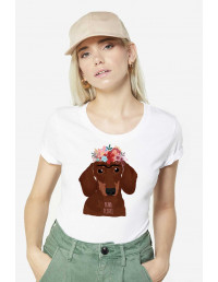 MCB-CW-Camiseta Frida teckel