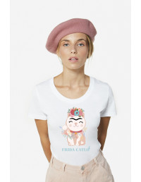 MCB-CW-Camiseta Frida Catlo