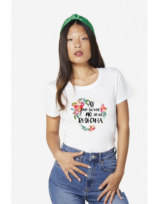 MCB-CW-Camiseta Ri-dí-cu-la