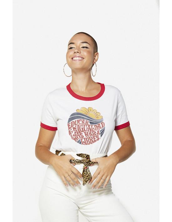 CBC-CW-Camiseta educar en la igualdad