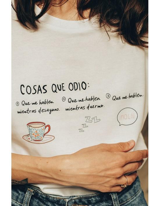 MCB-CW-Camiseta Cosas que odio