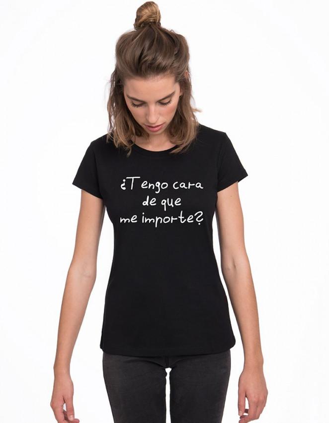MCN-CW-Camiseta tengo cara de que me importe