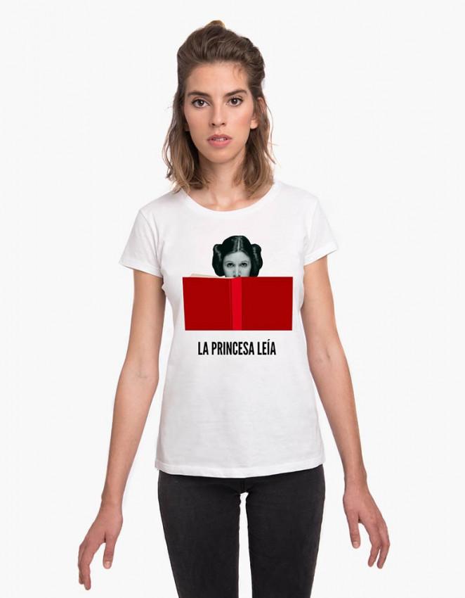 MCB-CW-Camiseta Princesa leía