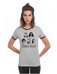 CBC-CW-Camiseta feminist artist