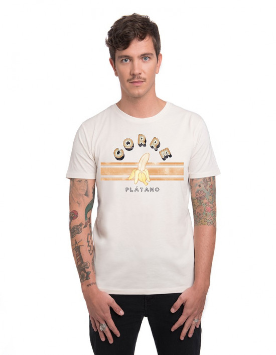MCV-CM-Camiseta corre plátano