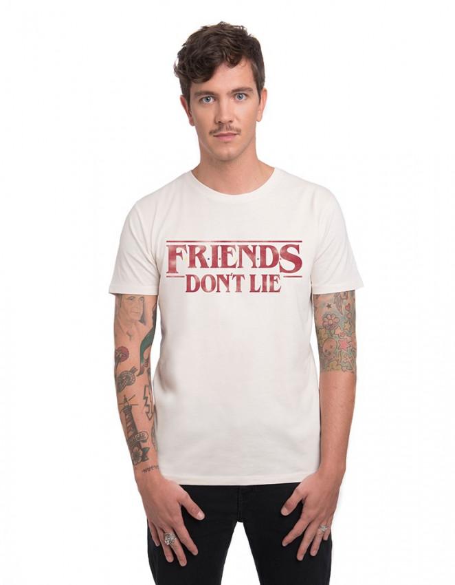 MCV-CM-Camiseta Stranger Things friends don't lie