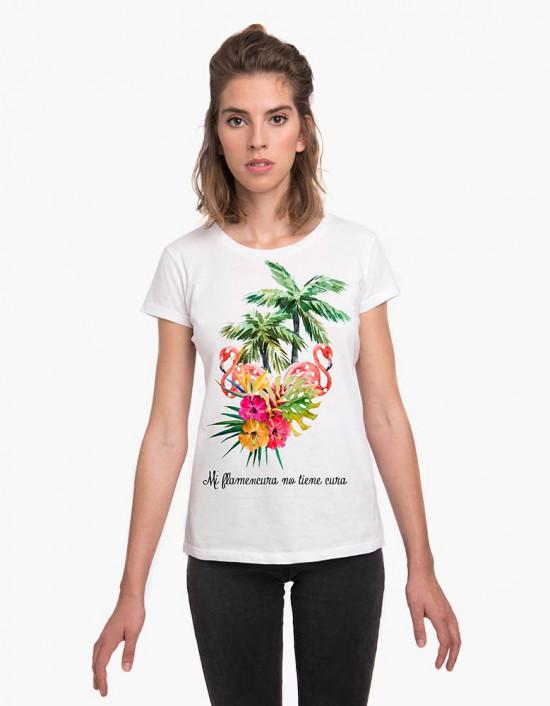 MCB-CW-Camiseta mi flamencura no tiene cura