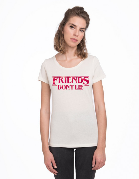 CAV-CW-Camiseta Stranger Things friends don't lie
