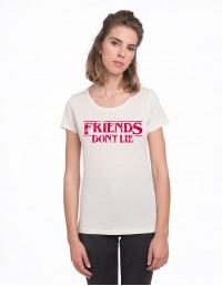 CAV-CW-Camiseta Stranger Things friends don't lie